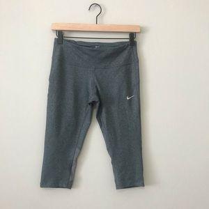 Grey Nike Capri Leggings